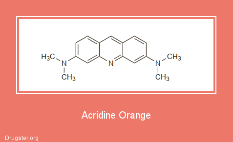 Acridine Orange Chemical formula