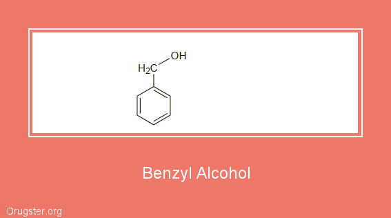 Benzyl Alcohol Chemical formula