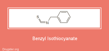 Benzyl Isothiocyanate Chemical formula