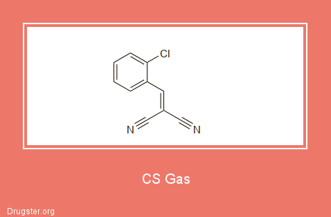 CS Gas Chemical formula