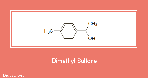 Dimethyl Sulfone Chemical formula