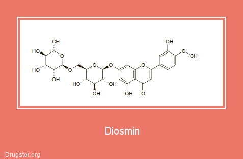 Diosmin Chemical formula