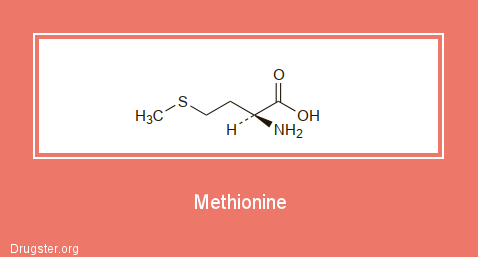 Methionine Chemical formula