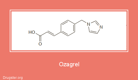 Ozagrel Chemical formula
