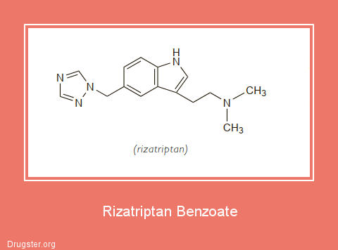 Rizatriptan Benzoate Chemical formula