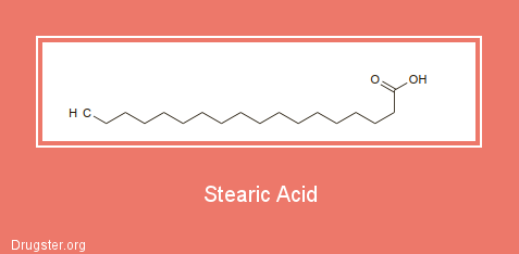 Stearic Acid Chemical formula